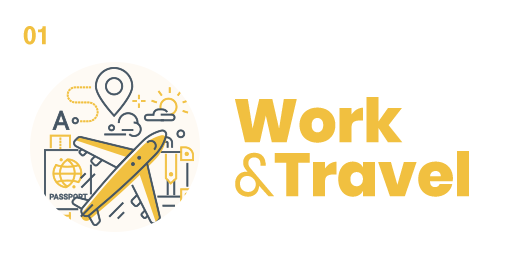 Work and travel en el extranjero