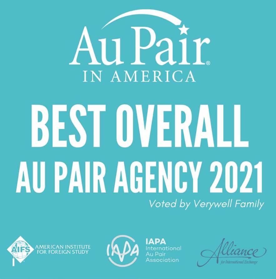 Au Pair in America premiada como mejor agencia au pair en Estados Unidos